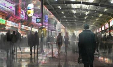 """Un concept art de """"Blade Runner 2""""."""