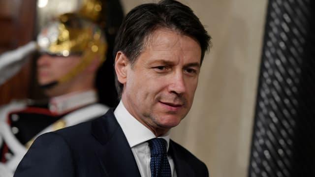 Giuseppe Conte à Rome (Italie), le 31 mai 2018