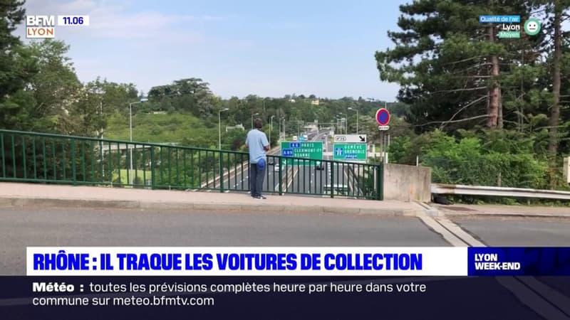 Rhône: un Lyonnais traque les voitures de collection pour les photographier