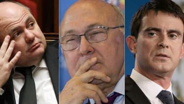 Entre Bruno Le Roux, Manuel Valls et Michel Sapin, les désaccords se multiplient.