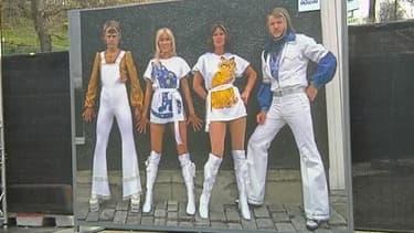 Le groupe suédois Abba