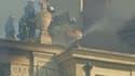 L'Hôtel Saint-Lambert; touché par un incendie, a subi de graves dommages dans la nuit de mardi à mercredi.