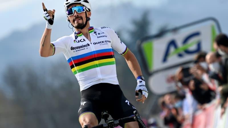"""Liège-Bastogne-Liège: Alaphilippe en favori pour """"le plus gros objectif"""" de son début de saison"""
