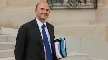 Pierre Moscovici, le ministre de l'economie et des Finances,