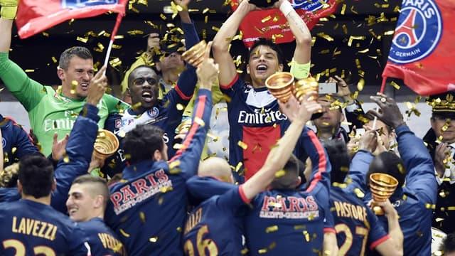 Le PSG vainqueur de la Coupe de la Ligue