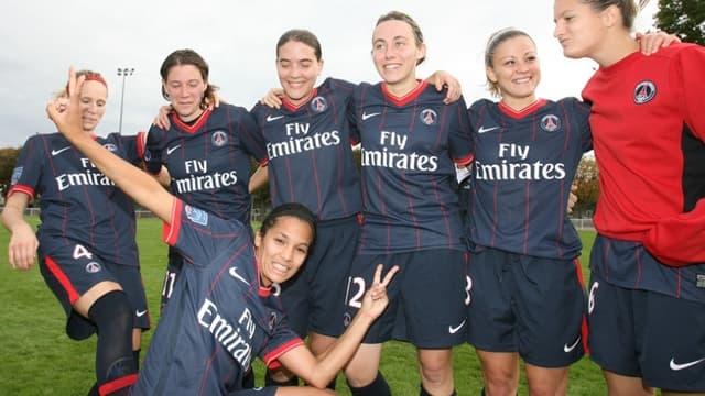 L'équipe féminine du PSG