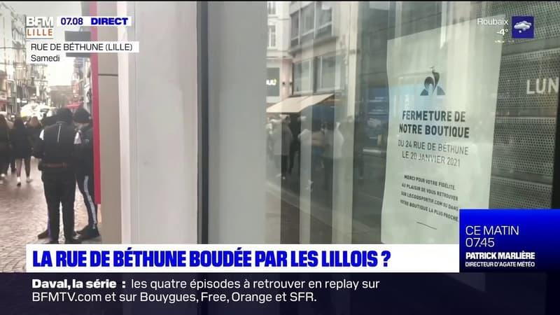 Lille: la rue de Béthune boudée par les Lillois?
