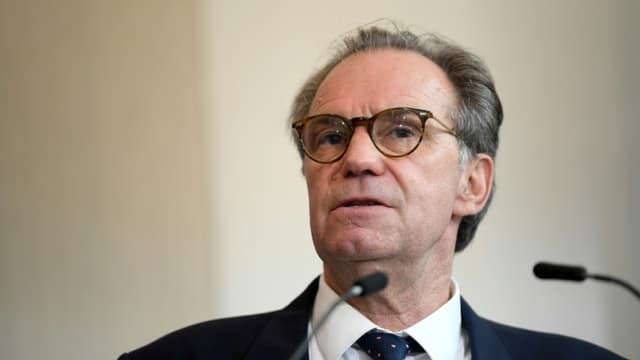 Le président sortant de Provence-Alpes-Côte d'Azur, Renaud Muselier, le 28 avril 2021 à Marseille