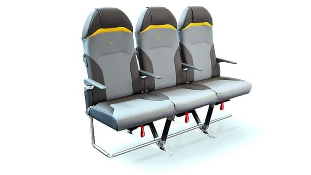 Le siège Titanium Seat NEO offre des soutiens ergonomiques latéraux lombaires, de bassin et de cuisses, des mousses à mémoire de forme, et un appui-tête avec appui-nuque.