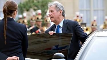 L'ancien président du Conseil constitutionnel circulait au volant d'un véhicule du Service de Protection des Hautes Personnalités.