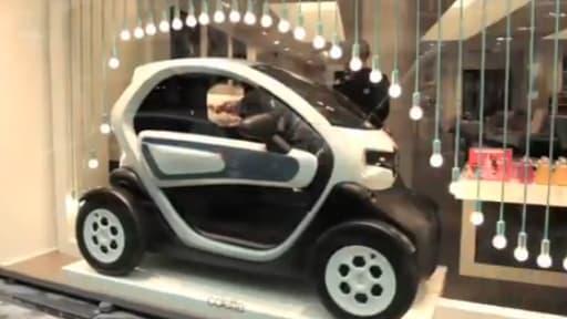 Fin 2011, le concept-store parisien branché Colette mettait la Twizy dans sa vitrine