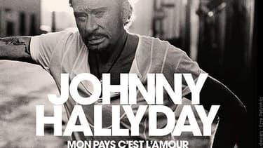 La pochette de l'album posthume de Johnny.