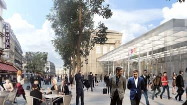 Les travaux gare du Nord doivent durer jusqu'en 2023.