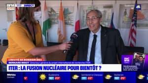 """Le projet ITER """"avance"""" mais a pris du retard avec le Covid, explique son directeur général"""