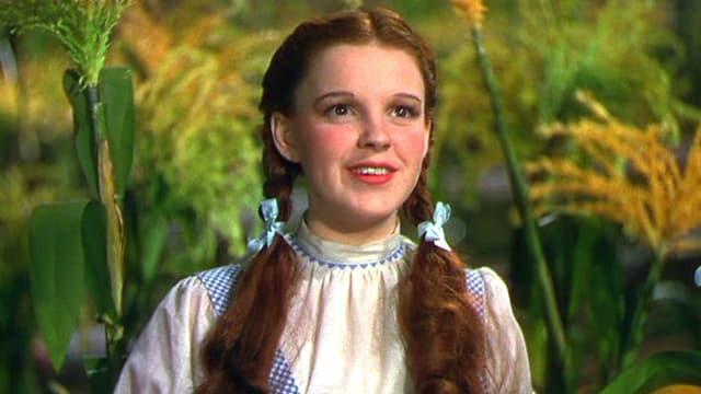 """Judy Garland dans """"Le Magicien d'Oz"""""""