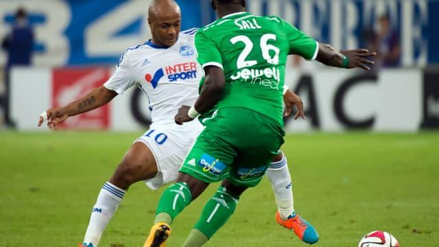 André Ayew face à Bayal Sall