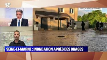 Seine-et-Marne: Inondation après des orages (2) - 02/06