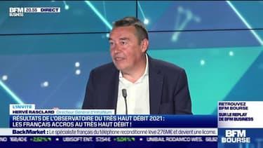Hervé Rasclard (InfraNum) : Résultats de l'Observatoire du très haut débit 2021, les Français accros au très haut débit ! - 18/05