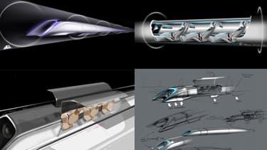 L'Hyperloop n'en est qu'au stade de projet pour l'instant.