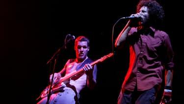 Rage Against The Machine en 2007 à Coachella