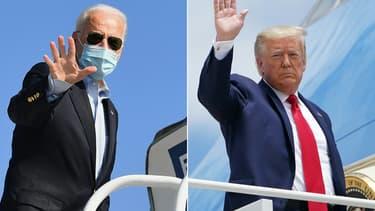 Joe Biden et Donald Trump s'affrontent dans les urnes ce 3 novembre.