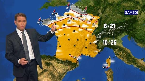 La météo de ce samedi