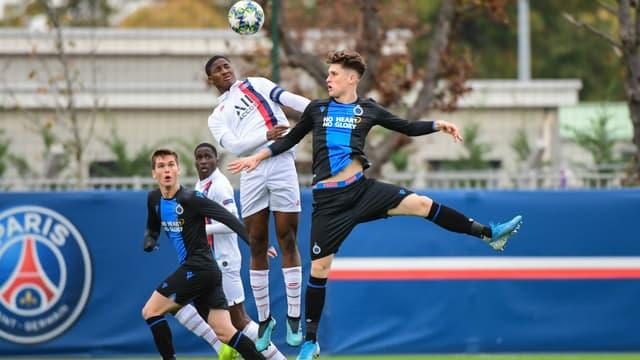 Moussa Sissako avec le PSG en Youth League