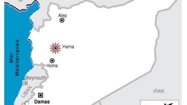 L'ARMÉE SYRIENNE PILONNE HAMA