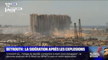 Beyrouth: la sidération après les explosions