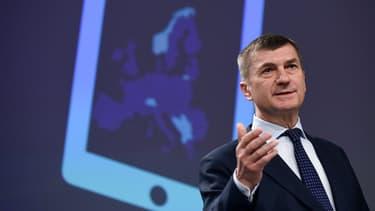 Andrus Ancip, vice-président de la commission européenne, prépare le marché unique du numérique et veut clarifier les règles entre les entreprises européennes et les géants américains.
