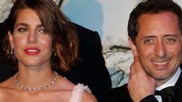 Charlotte Casiraghi et Gad Elmaleh, le 23 mars dernier, au bal de la Rose, à Monte-Carlo.