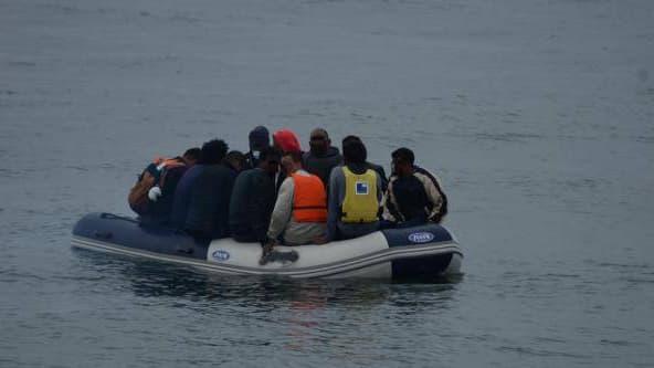 Onze migrants ont été secourus au large de Calais mardi lors d'une tentative de traversée de la Manche.