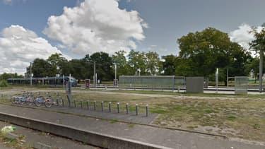 L'arrêt de tram Doyen Brus, où le viol a eu lieu - Image d'illustration