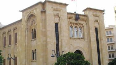 Le Parlement libanais, place de l'Etoile à Beyrouth