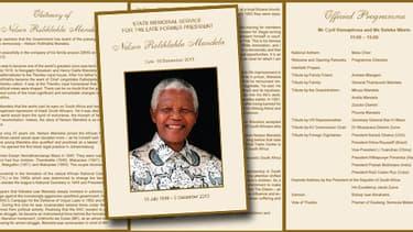 Le programme des célébrations en hommage à Mandela, mardi 10 décembre.