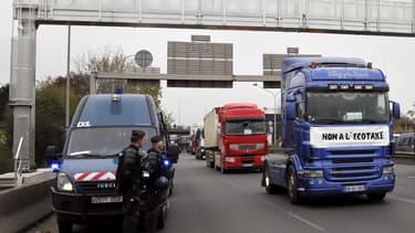 La suspension de l'écotaxe devrait coûter 173 millions d'euros à l'Etat français.