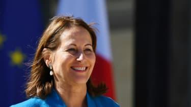 Ségolène Royal, le 12 avril 2017 à Paris