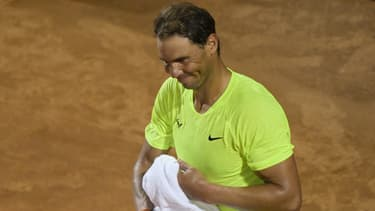 Rafael Nadal au Masters 1000 de Rome, le 16 septembre 2020