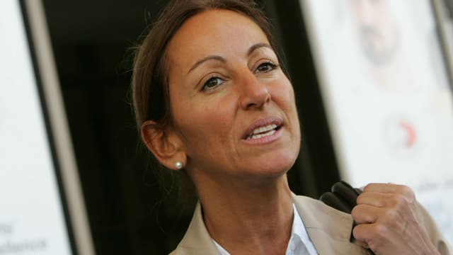 La journaliste Véronique Robert à Dubaï en 2007