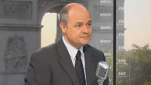 Bruno Le Roux était l'invité de BFMTV ce lundi matin.