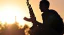 Un combattant kurde, à 50km de Raqqa.