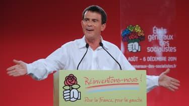 Manuel Valls a fait un discours à l'université d'été du PS.