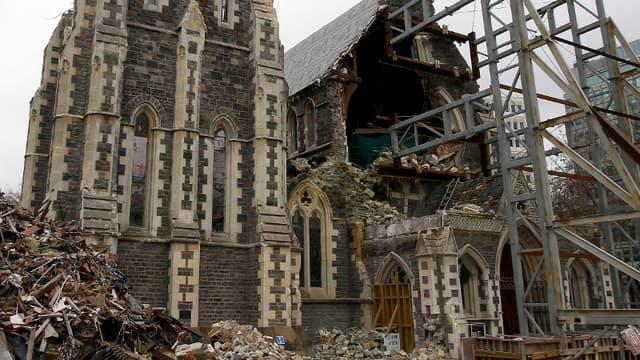 Christchurch après le séisme de février dernier