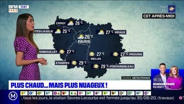 Météo Paris-Ile de France du 8 juillet: Un temps un peu nuageux