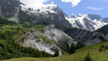 Vue de La Grave, dans les Hautes-Alpes.  (photo d'illustration)