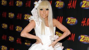 Lady Gaga en 2008 à New York