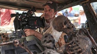 """Zack Snyder sur le tournage de son nouveau film """"Army of the Dead"""" (2021)"""