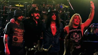 Le groupe de heavy metal britannique Motörhead, le 20 avril 2014