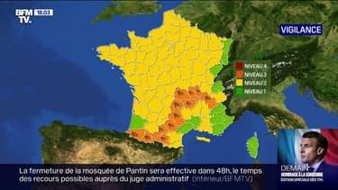 Douze départements en vigilance orange pour vents violents