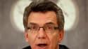 Le ministre allemand de l'Intérieur Thomas de Maiziere a révélé que le colis suspect découvert jeudi en Namibie juste avant son embarquement dans un avion assurant la liaison entre Windhoek et Munich était un test du dispositif de sécurité et ne contenait